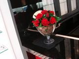 いたるところにお花が!