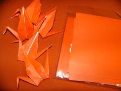 折り紙で鶴を折るなんて何年ぶりか・・・