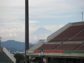 日本平から見える富士山