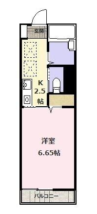 間取り図_ロンフィ203