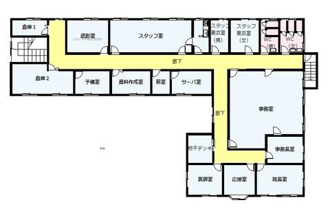 間取り図_川島町(病院2F)