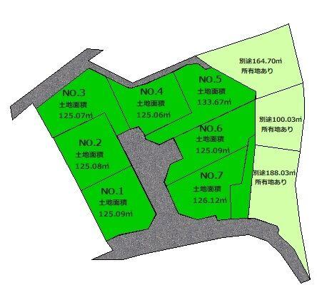 恩田町区画図