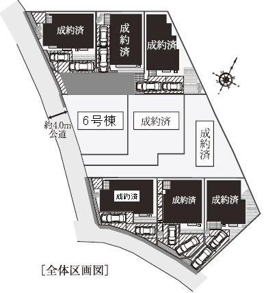 区画図 川井本町 ラスト1区画