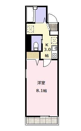 【賃貸】ロングフィールド105