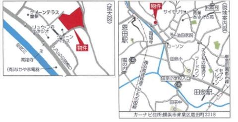 恩田町地図