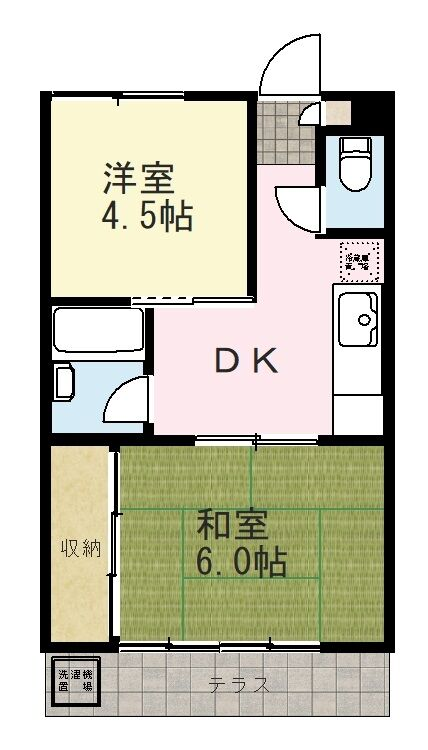 間取り図_雨龍荘.103