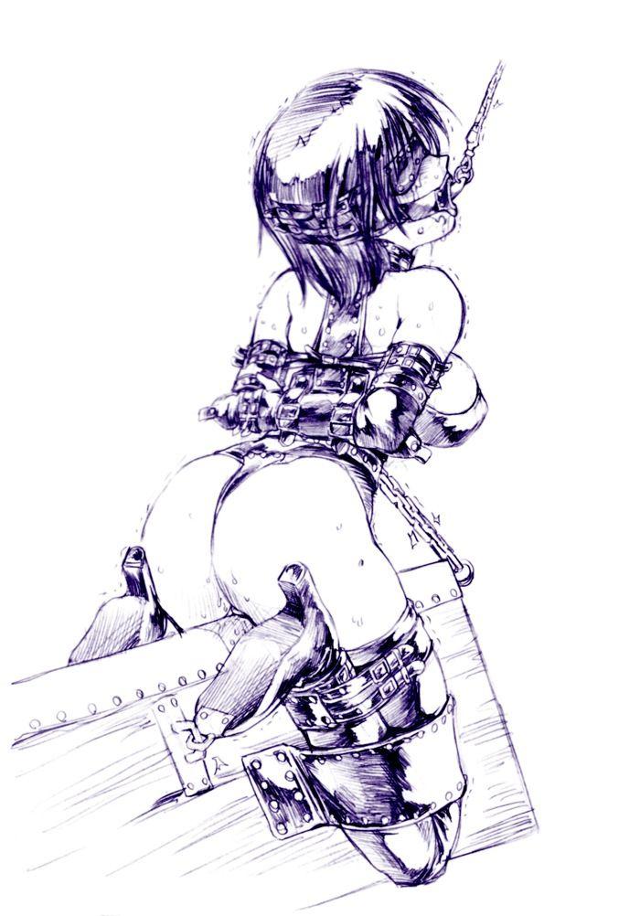 おっぱい | おっぱいがエロく強調された服着てる女の子のHな画像【二次】09
