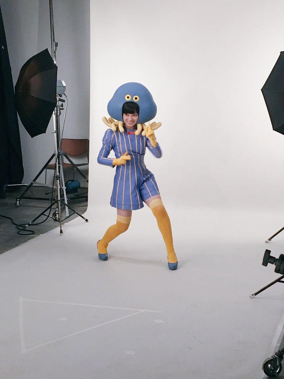 【エンタメ画像】橋本環奈さん、服を着ていても巨乳が隠しきれない