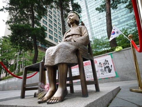 慰安婦像を訪れた日本人活動家らが訴え「日本にも設置を」=韓国ネット「日本の良心はまだ生きている」