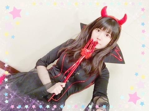声優・竹達彩奈さん(28)、悪魔のコスプレをしてしまう