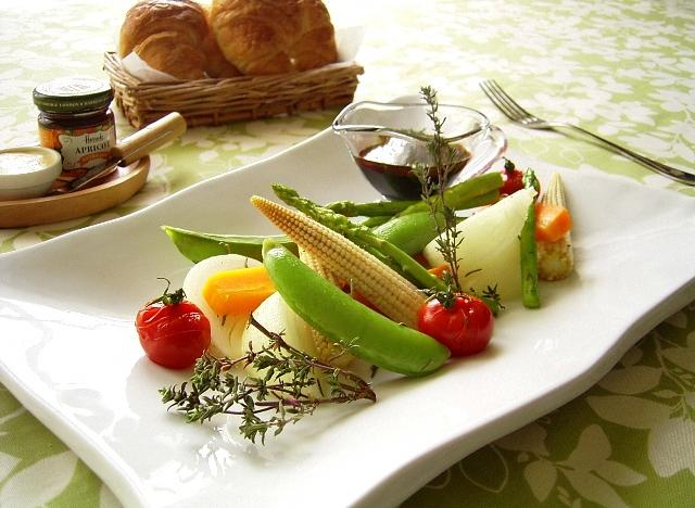 春野菜のグリル