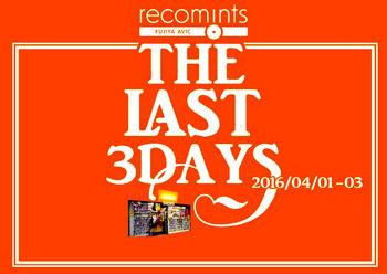 ���THE LAST 3 DAYS