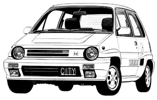 Honda City TurboII