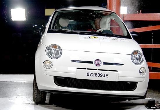 Euro NCAP Fiat 500
