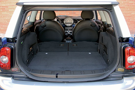 MINI Clubman luggage