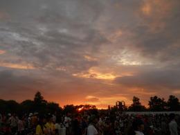 石狩の夕焼け