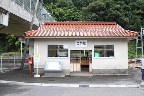口羽駅駅舎