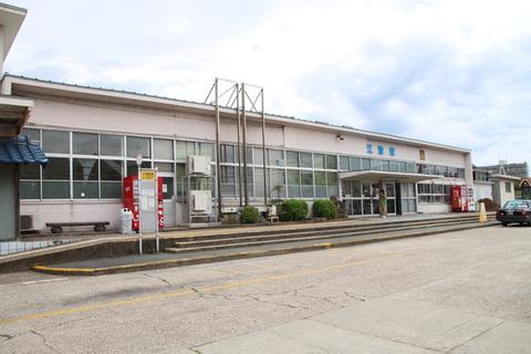 江津駅駅舎