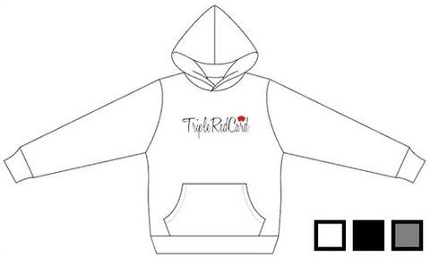 【Tripleredcard LOVE・刺繍パーカー】