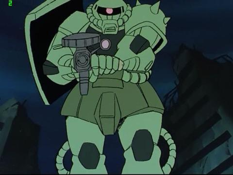 ※【ガンダム】ザクⅡの肩についてる逆L字のシールドって・・・