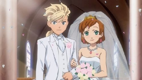 強引な結婚式場面w