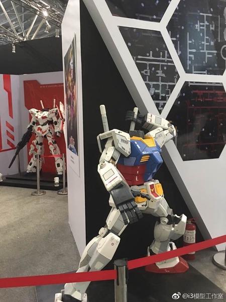 上海のアニメ博覧会でガンダムの頭部が盗まれる!?中国バンダイはそれを否定