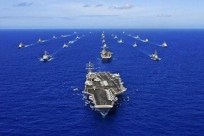 アメリカ第7艦隊第5空母打撃群