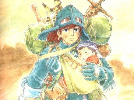 nausicaa-and-child