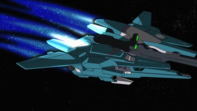 mp4_002091047 ガンダムの可変MSが宇宙空間で飛行機タイプに変形する意味あんの? :