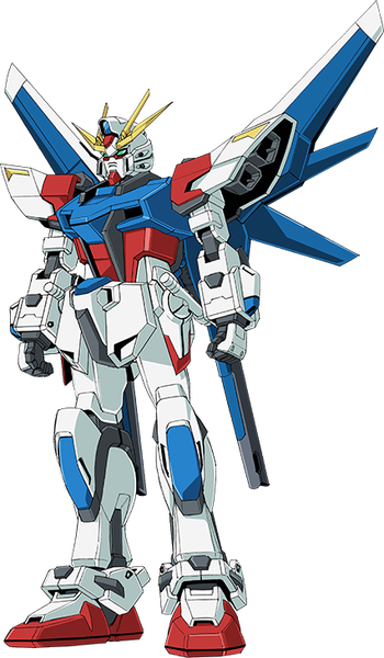 Build_Strike_Gundam_-_Front
