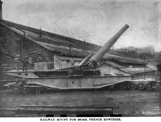 French_400_mm_railway_howitzer_photograph