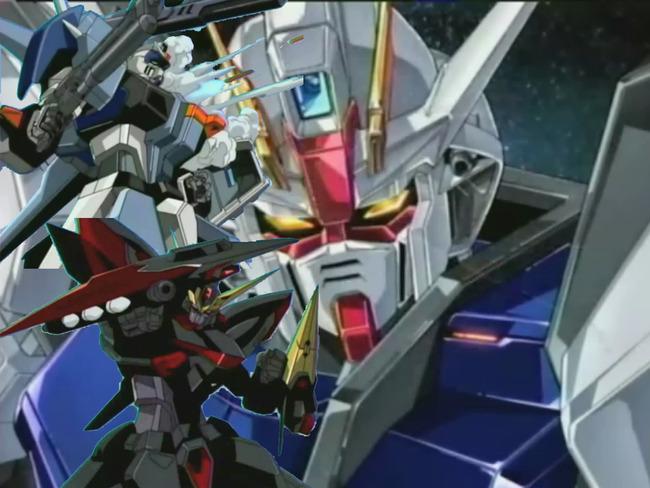 Gundam_SEED_Strike_Collage