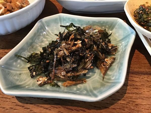 ●1/23岩海苔といりこピリ辛炒め