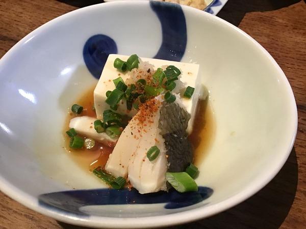 ●1/23鱈豆腐