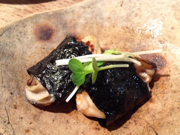 ◆2/17牡蛎磯辺焼き