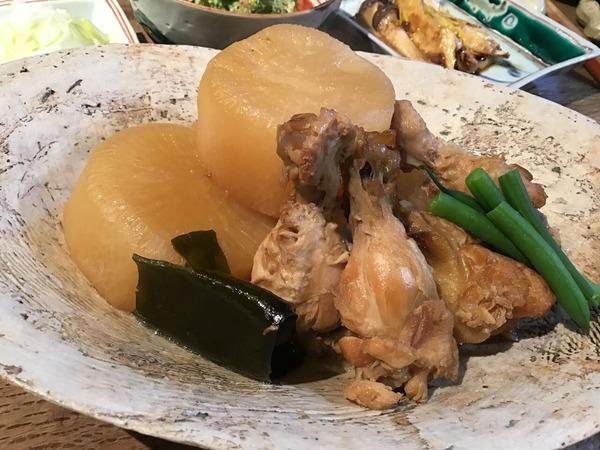 ◆3/7鶏手羽大根煮
