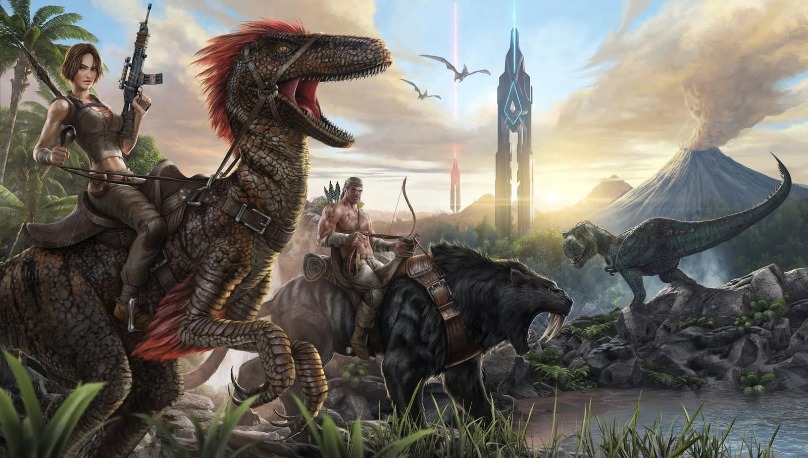 [Game] 恐竜サバイバル ARK : Survival Evolved レビュー