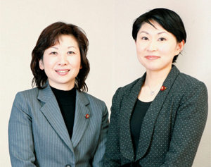 小渕優子と野田聖子
