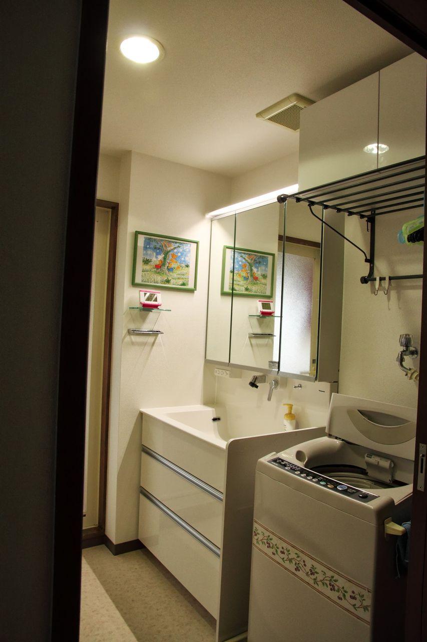 ロッキーの施工例 : 洗面化粧台 ...