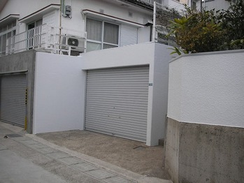 施工後1(車庫)