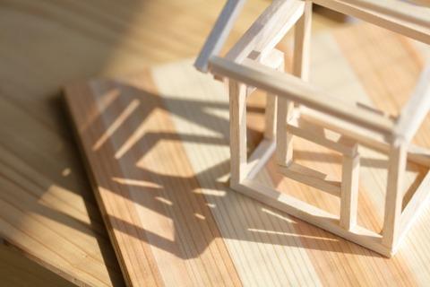 木造骨組み