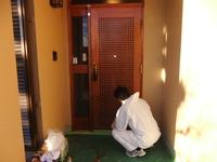 玄関ドア再生リフォーム