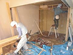 建具枠工事