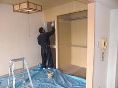 建具塗装工事