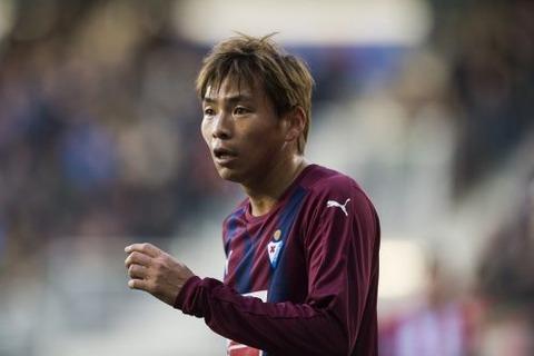 エイバル乾貴士が日本人リーガ最多出場記録を更新