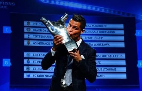 クリスティアーノ・ロナウド、2度目のUEFA最優秀選手に輝く!