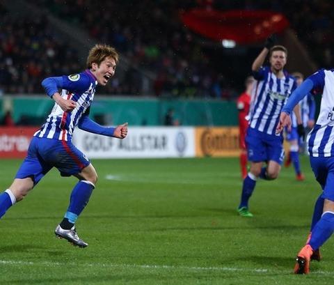【DFBポカール準々決勝】ハイデンヘイム2-3ヘルタ・ベルリン