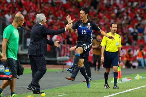 【W杯 アジア2次予選】日本代表5-0アフガニスタン代表 ハリ
