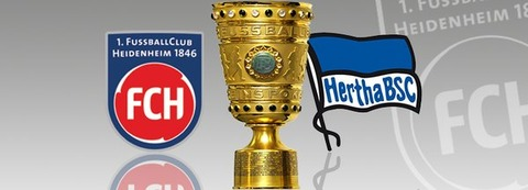 【DFBポカール準々決勝】ハイデンヘイムvsヘルタ・ベルリン