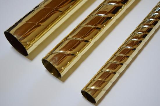 Brass twist pole_3